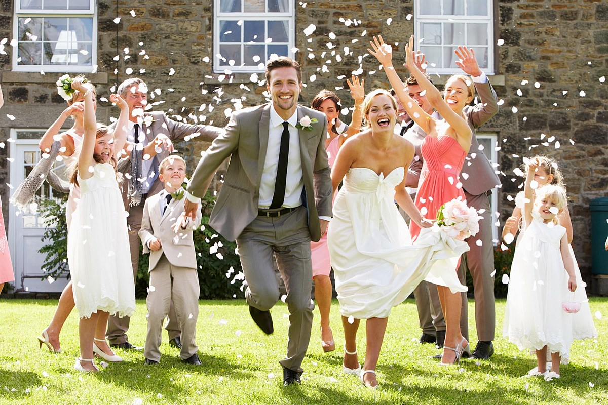 Wedding traditions, which you should try just for fun