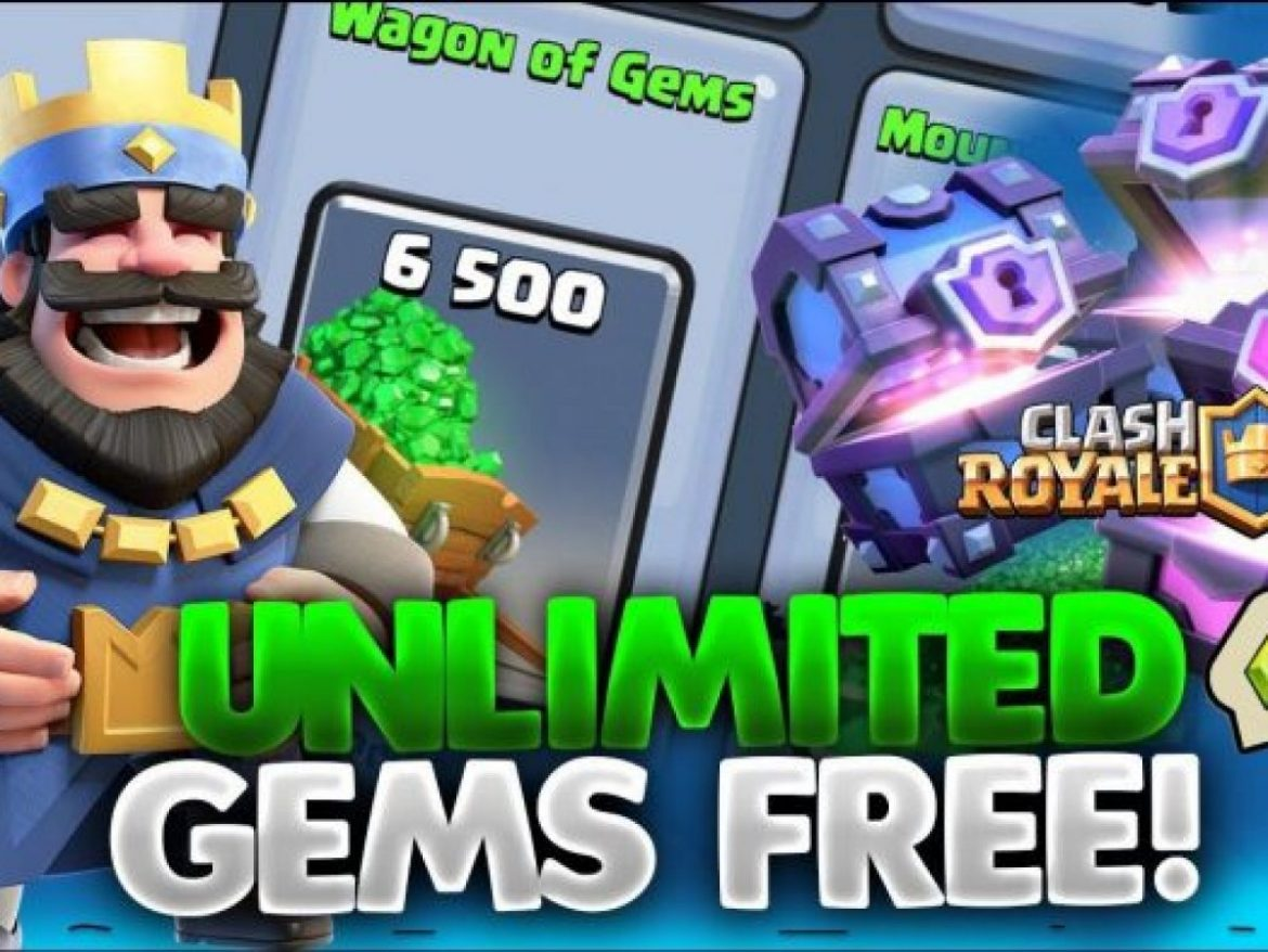How to Get Unlimited Gems and Gold in Clash Royale Glich (New)!